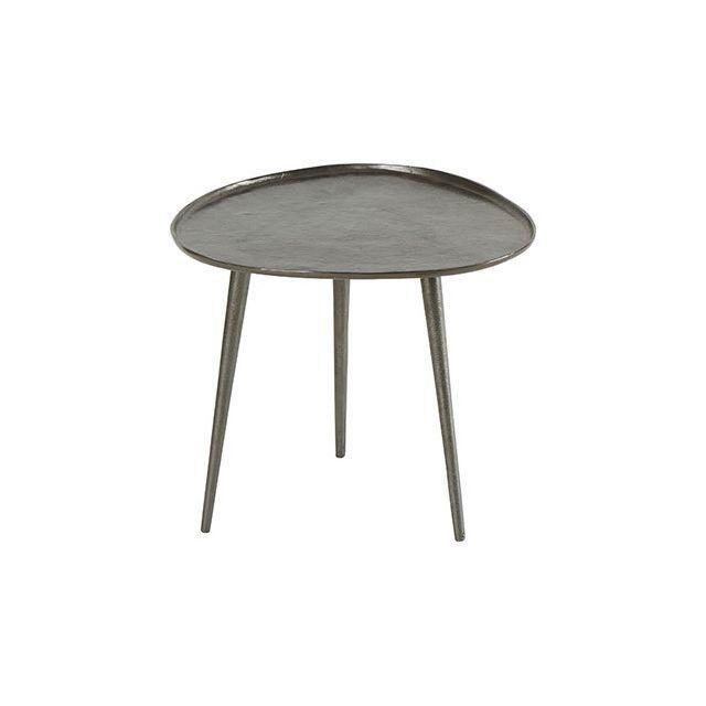 Table Basse 48x44xH42cm en Acier - Galet