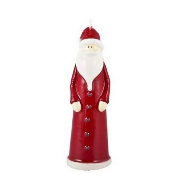 1001DECOTABLE Bougie père Noël