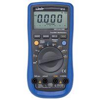 Limit - Multimètre digital Cat Iii 1000V, 10 A Limit610
