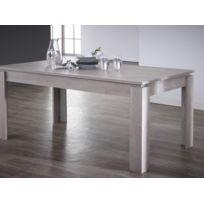 Habitat et Jardin - Table repas Segur - 170 x 90 x 77 cm - Chêne champagne
