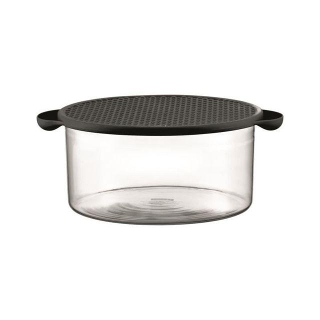 Bodum Plat Hot Pot 2,5L avec couvercle en silicone noir