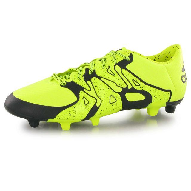 Chaussures football adidas ACE 16.2 FG Jaune Prix pas cher