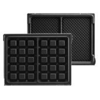 LAGRANGE - plaques 2 maxi gaufres pour tarti'gaufres - 020122