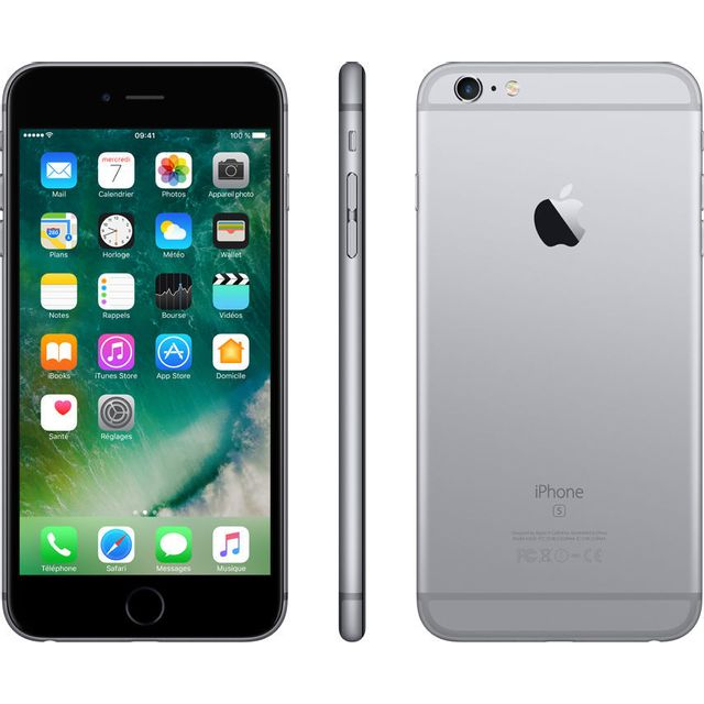 APPLE - iPhone 6S plus - 64 Go - Gris Sidéral - Reconditionné a0194747ed62