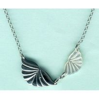 Scooter - Collier Argent