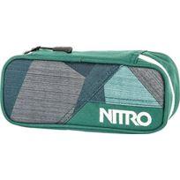 Nitro Snowboards - Nitro Trousse ÉTUI À Crayons - 20 X 8 X 6 Cm, 1 Litre, Polyester, Fragments Green