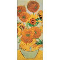 Ricordi Arte - Puzzle 2000 pièces Panoramique : Les Tournesols, Vincent Van Gogh