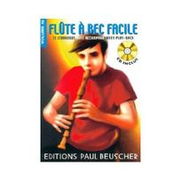 Paul Beuscher - Partition : Flute a bec facile vol.2 Cd