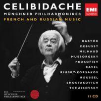 Emi Classics - Celibidache : Musique Francaise Et Russe - Coffret De 11 Cd