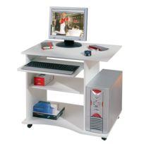 bureau informatique blanc Achat bureau informatique blanc pas
