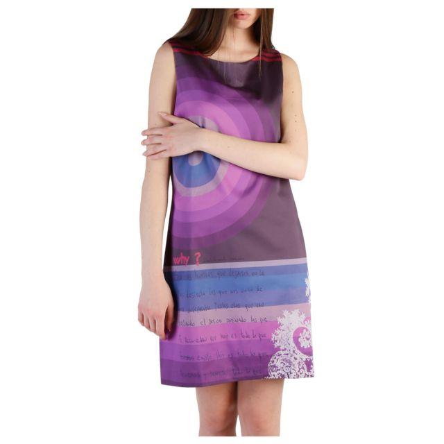 Buzzao - Desigual - 47V2839 Violet - pas cher Achat   Vente Robes ... 7e0367b2fc38