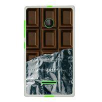 Kabiloo - Coque Souple en gel pour Microsoft Lumia 532 avec impression tablette de chocolat