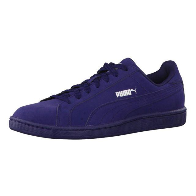 Homme Bleu Puma Chaussure Smash 44 Cher Pas Buck Taille FJ3TlcK1