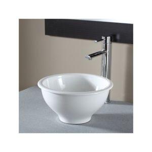 planetebain vasque poser bol en c ramique pas cher achat vente vasque rueducommerce. Black Bedroom Furniture Sets. Home Design Ideas