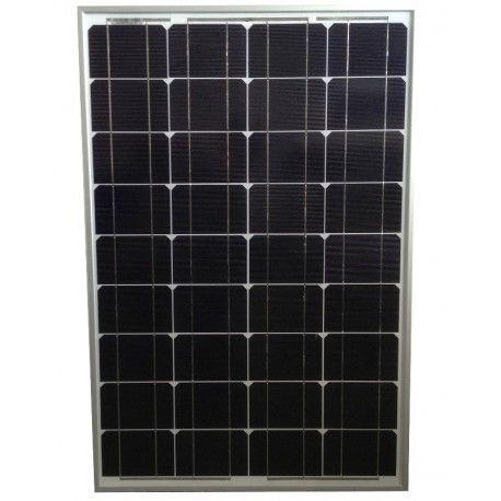 sellande panneau solaire 50w 12v monocristallin pas cher achat vente panneaux solaires. Black Bedroom Furniture Sets. Home Design Ideas