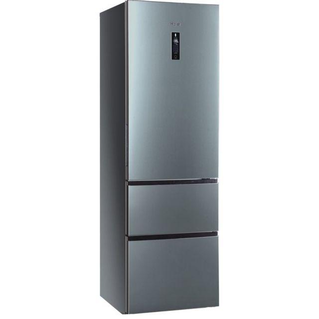 HAIER - Réfrigérateur combiné 3 portes 3D -A2FE635CSJ