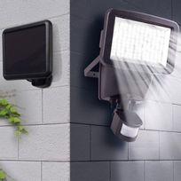 projecteur solaire puissant catalogue 2019 rueducommerce carrefour. Black Bedroom Furniture Sets. Home Design Ideas
