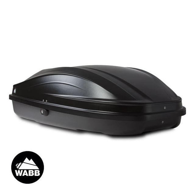 wabb coffre de toit s noir 240 litres pas cher achat. Black Bedroom Furniture Sets. Home Design Ideas