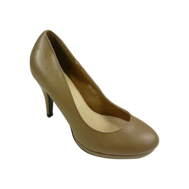 nouveau produit 065e1 725db Chaussmaro - Chaussures femmes, escarpins a plateau et bout ...