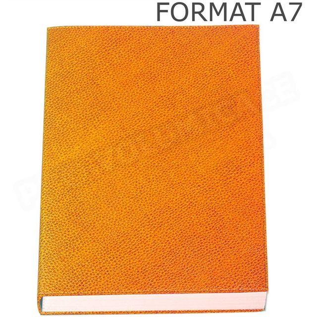 volumica mini carnet de notes a7 cuir orange beaubourg 0cm x pas cher achat vente. Black Bedroom Furniture Sets. Home Design Ideas