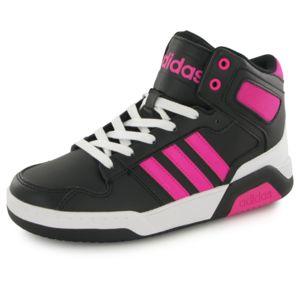 Adidas Bb9tis Mid noir, baskets mode enfant