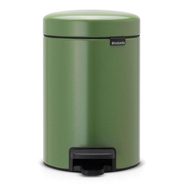 Brabantia poubelle p dale newicon 3 litres vert pas cher achat vente poubelle de cuisine - Poubelle de cuisine vert pastel ...