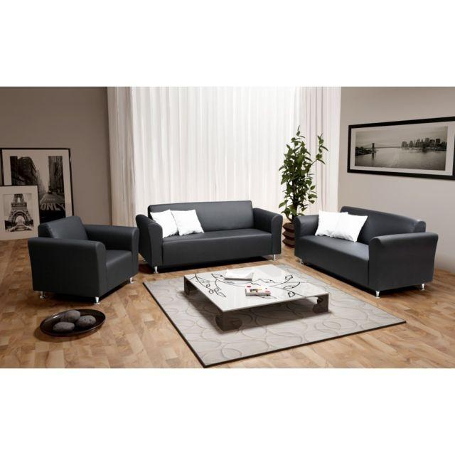 Rocambolesk Fauteuil Luis noir sofa divan