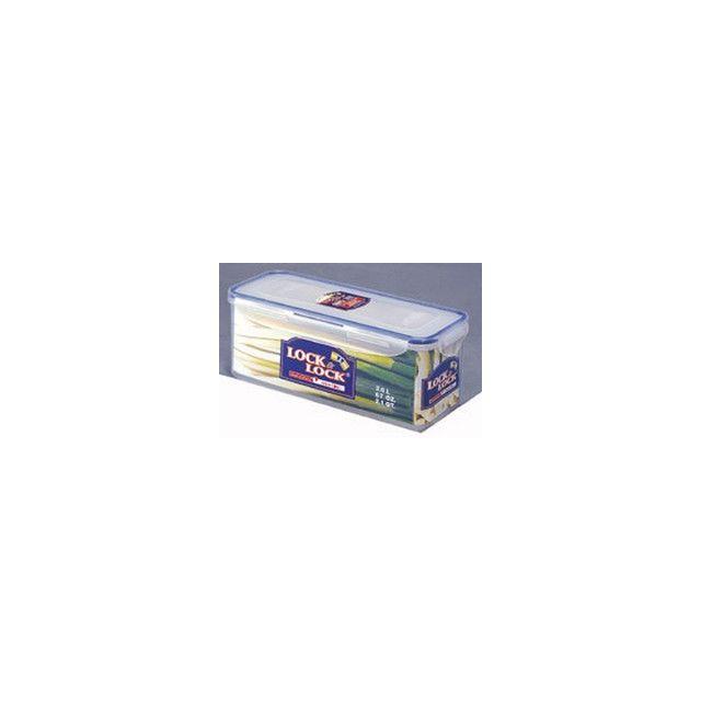 Lock & Lock Boîte Rectangulaire Format Bas - 2 Litres