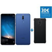 HUAWEI - Mate 10 Lite - Bleu + PC Case Mate 10 Lite - Noire