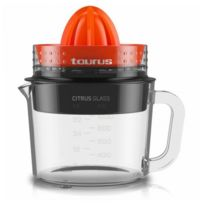 - Presse agrume électrique 1 Litre 30W en verre - Centrifugeuse pour jus de fruits et jus d'oranges