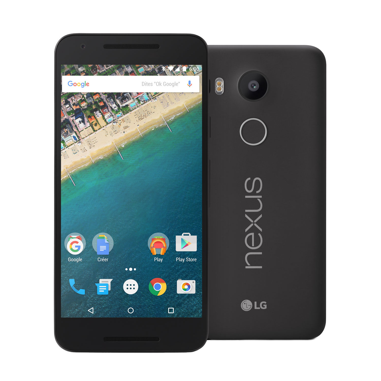Nexus 5X 32 Go - Noir