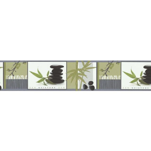 frise adh sive zen galets 5m pas cher achat vente papier peint rueducommerce. Black Bedroom Furniture Sets. Home Design Ideas