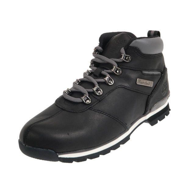 Timberland Chaussures montantes Splitrock black cuir Noir