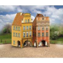 Aue Verlag - Maquette en carton : Vieilles maisons : Coffret 4