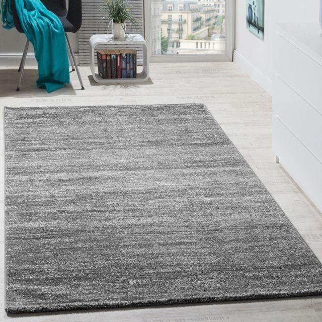 paco home tapis moderne salon poils ras confortable prix avantageux chin en gris cr me 60x100. Black Bedroom Furniture Sets. Home Design Ideas