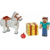 MINECRAFT - Figurine - Coffret Steve et Cheval - 2438
