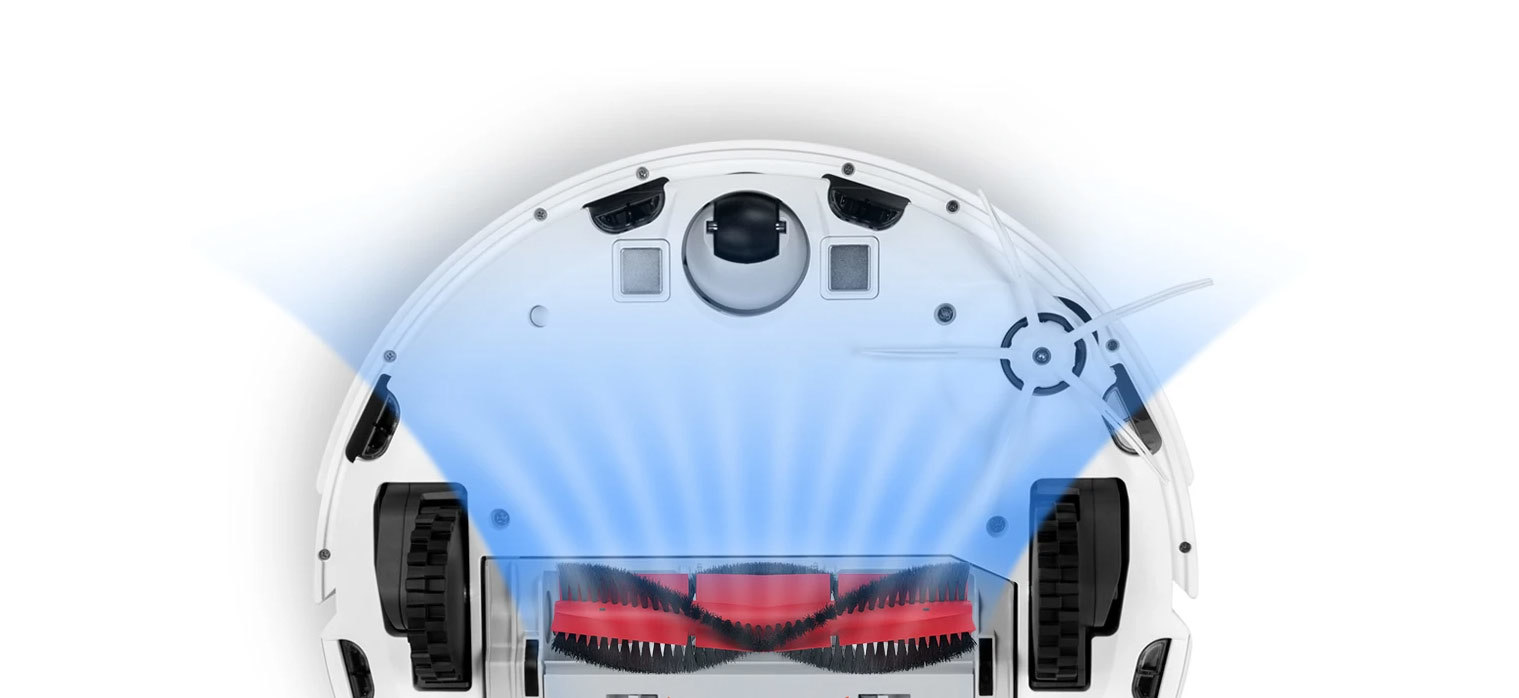 Aspirateur robot S6 brosses