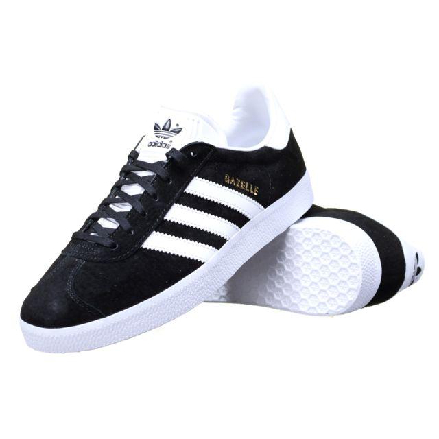 adidas gazelle noire et blanche