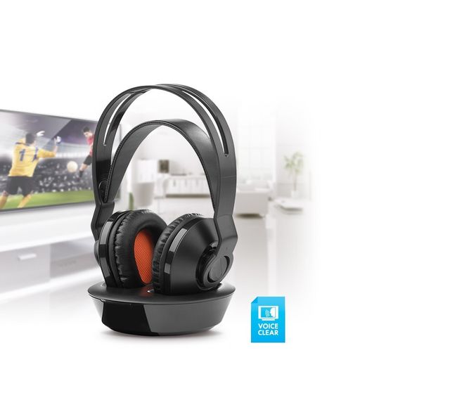 One For All Casque Tv Sans Fil Rechargeable Station De Charge Pas