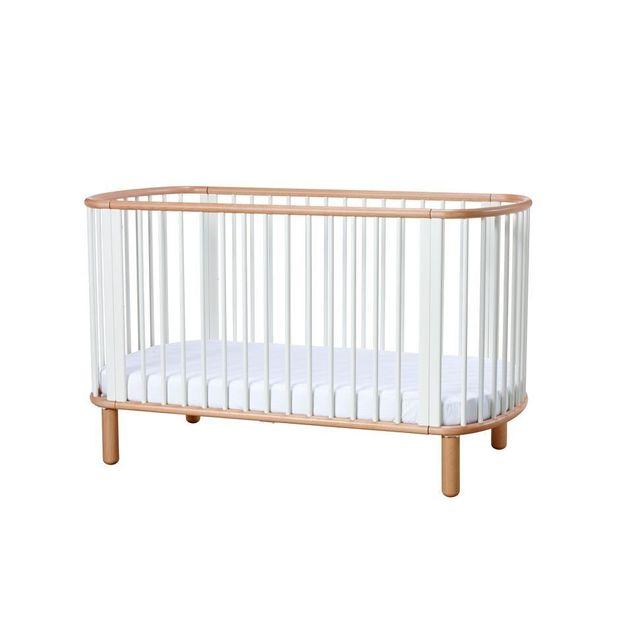 Flexa Lit bébé - blanc/nature