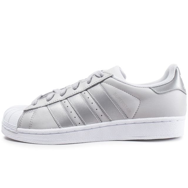 Adidas originals - Superstar Iridescent Junior Grise