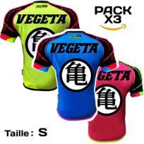 7edc525f6d0 No Brand - X3 Pack Maillot Thailande Football bleu - rose - jaune Vg -  thailande