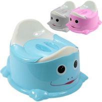 MONSIEUR BEBE - Pot de Toilette Bébé + Couvercle Anti Odeur