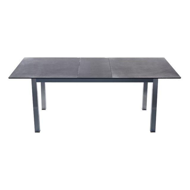 Tousmesmeubles Table de repas - Grany - L 140 x l 90 x H 76