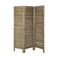 paravent bois flotte achat paravent bois flotte pas cher rue du commerce. Black Bedroom Furniture Sets. Home Design Ideas