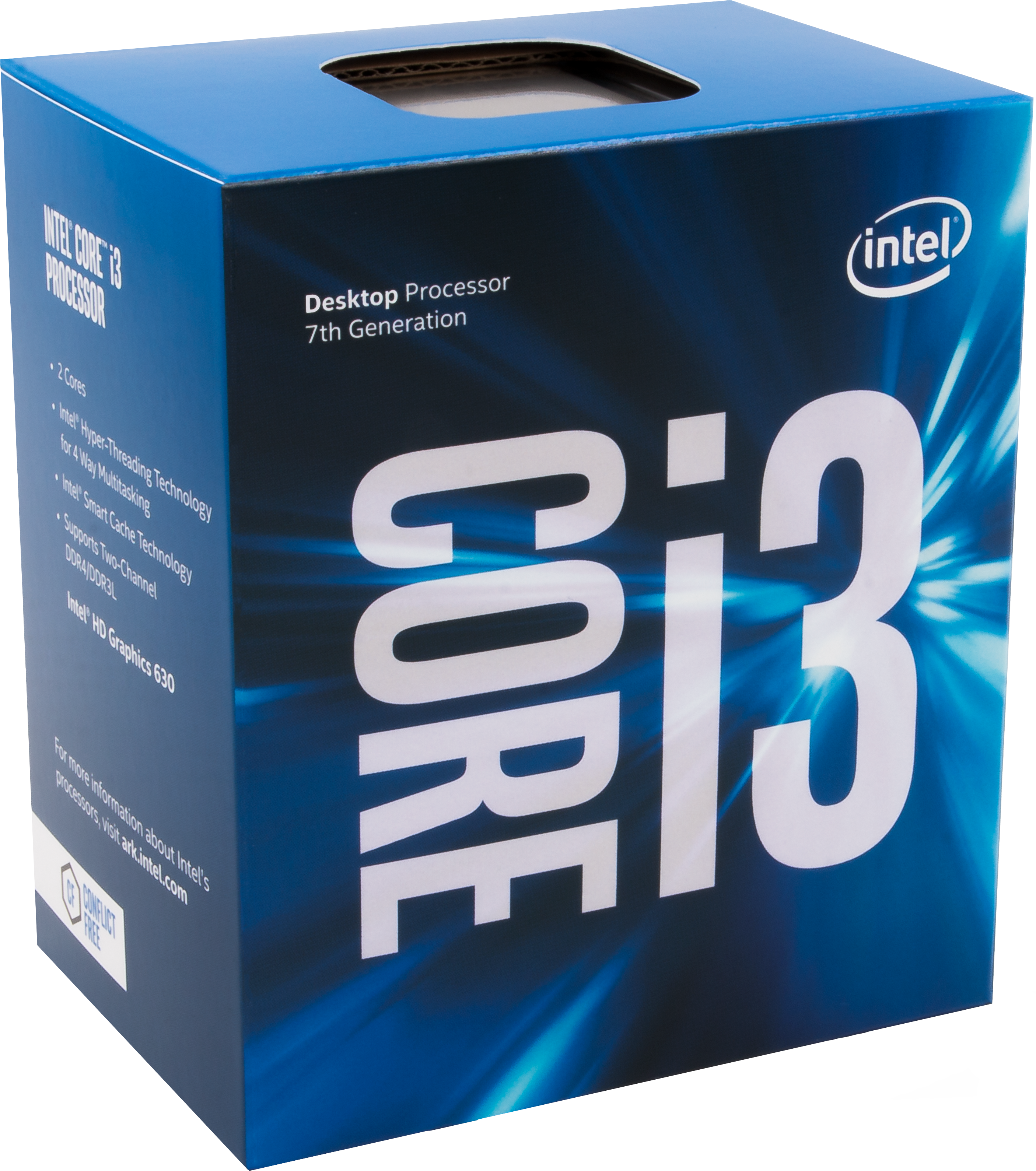 Processeur Core i3-7300T 3.50GHz 4M LGA1151 - KABYLAKE