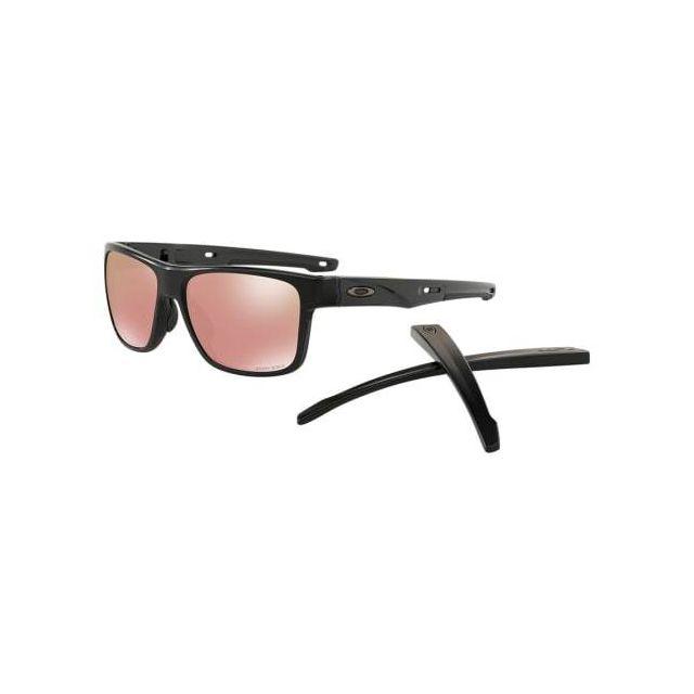 2a90eebd21ea93 Oakley - Lunettes Oakley Crossrange Matte Black avec verres Prizm Dark Golf