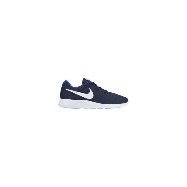 Nike Chaussures Tanjun Bleu Blanc Pas Cher Achat   Vente Baskets
