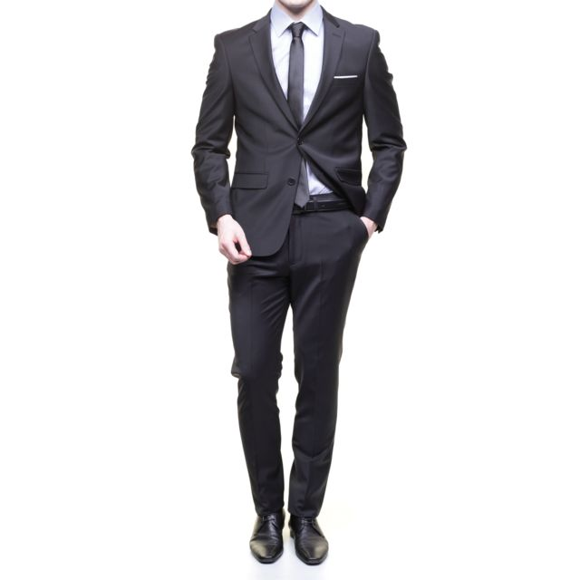 jean louis scherrer costume sch041 fild uni black pas. Black Bedroom Furniture Sets. Home Design Ideas