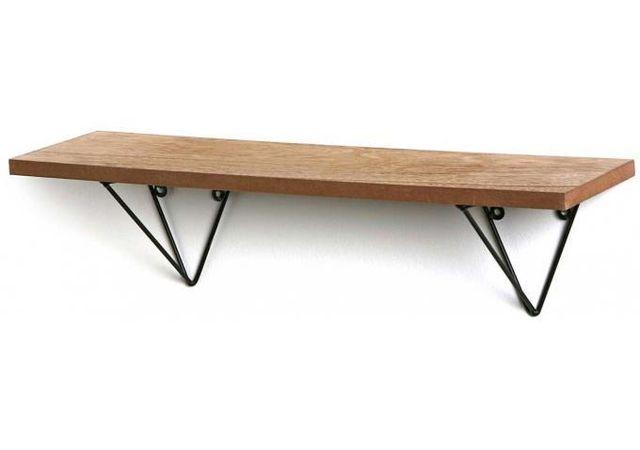 etagere bois metal pas cher. Black Bedroom Furniture Sets. Home Design Ideas